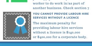 Infographic on SA Labour Hire Licensing Act 2017